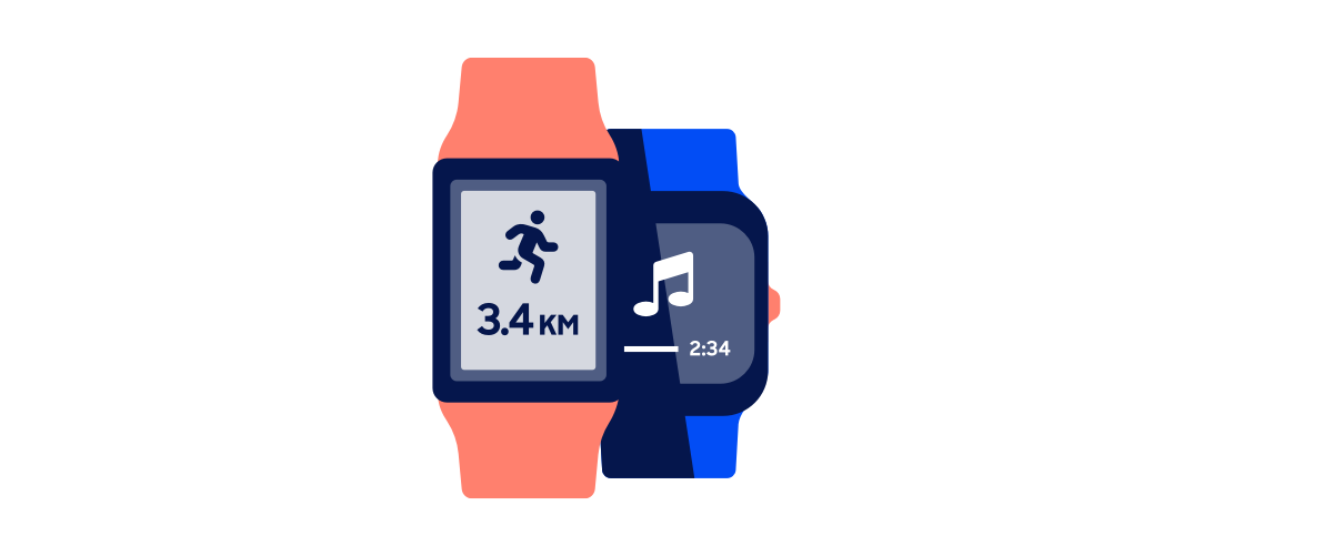 Smartwatches - illustratie