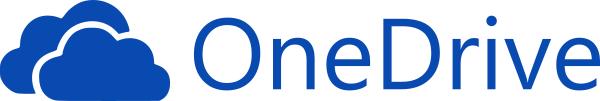 Logo van de clouddienst Onedrive, van Microsoft