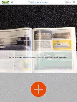 Ikea heeft een nieuwe 3D-functie in zijn catalogus app.
