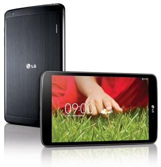 LG G Pad 8.3 uiterlijk