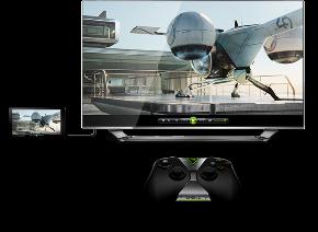 Nvidia Shield Tablet als console