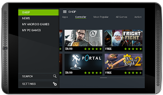 Nvidia Shield Tablet Android Games