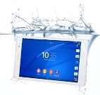 Sony Xperia Z3 Tablet Compact water
