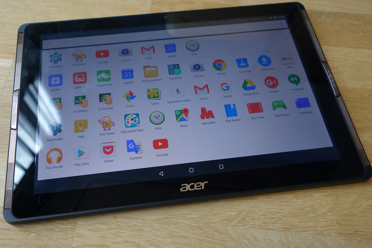 Acer Iconia apps