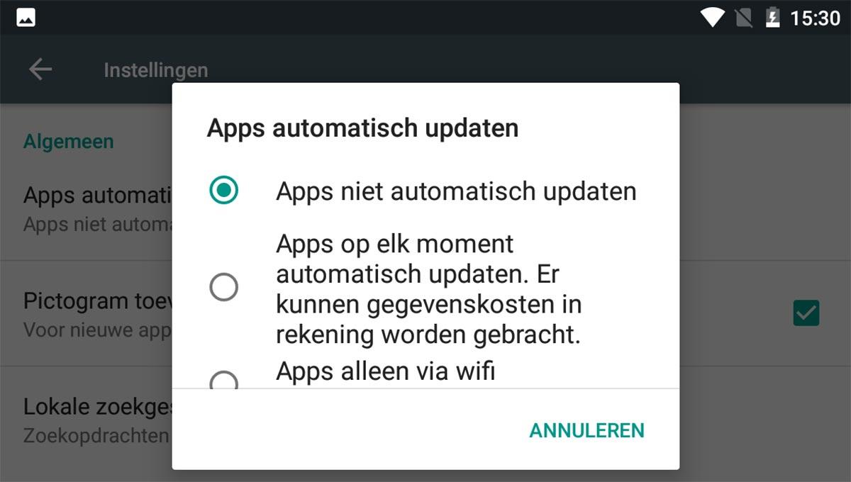 Android-automatisch-updaten