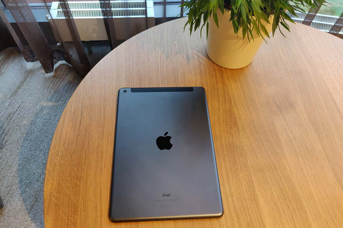 Apple iPad 2019 - achterkant
