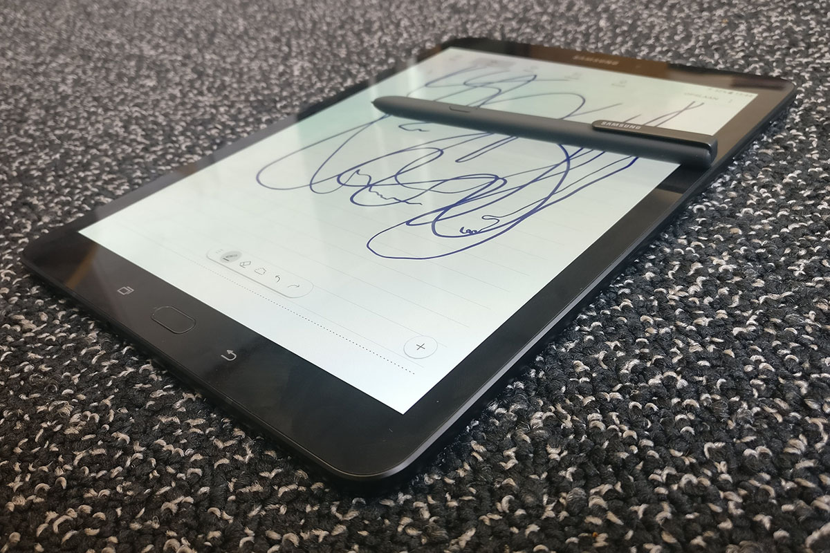 samsung tab s3-s pen