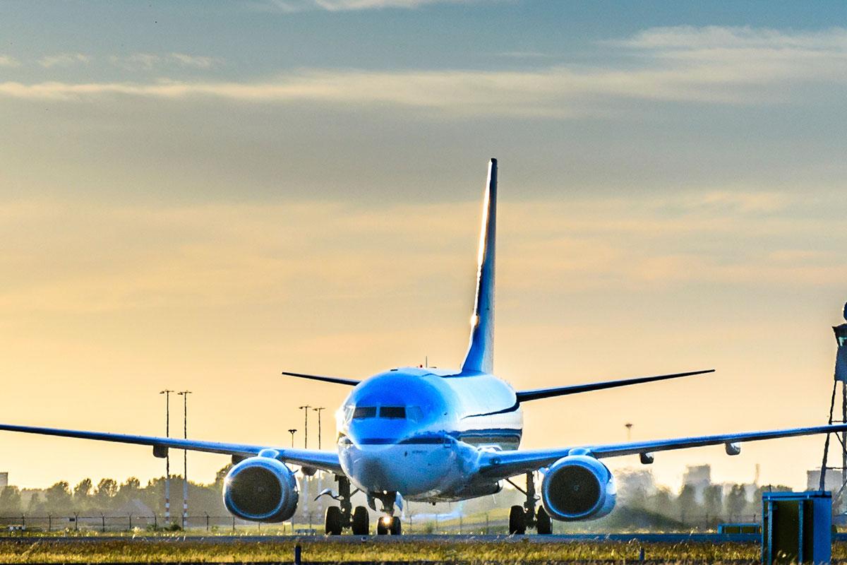 klm vliegtuig vakantie schiphol