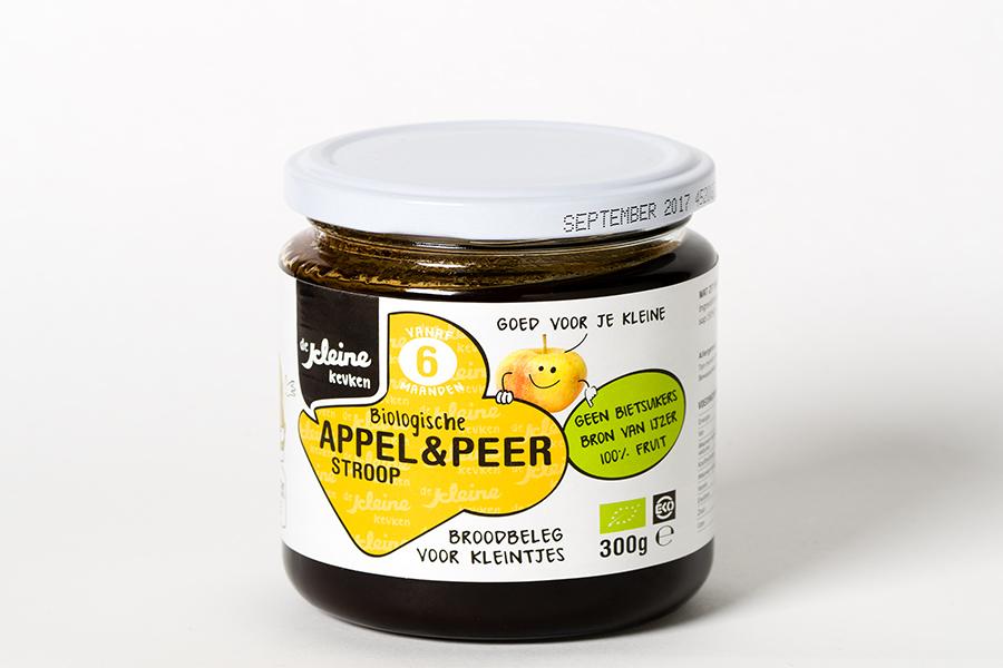 Kleine keuken appel en peer stroop
