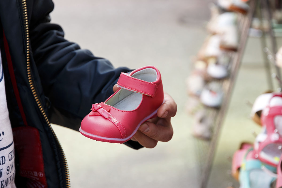 kinderschoenen baby en kind