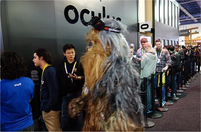 CES 2016 Oculus Rift