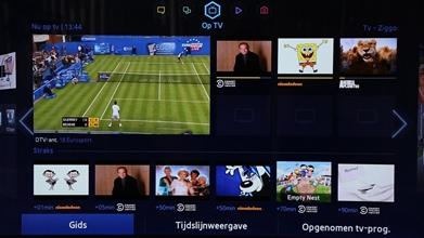 Samsung UE46F8000 menu Op TV