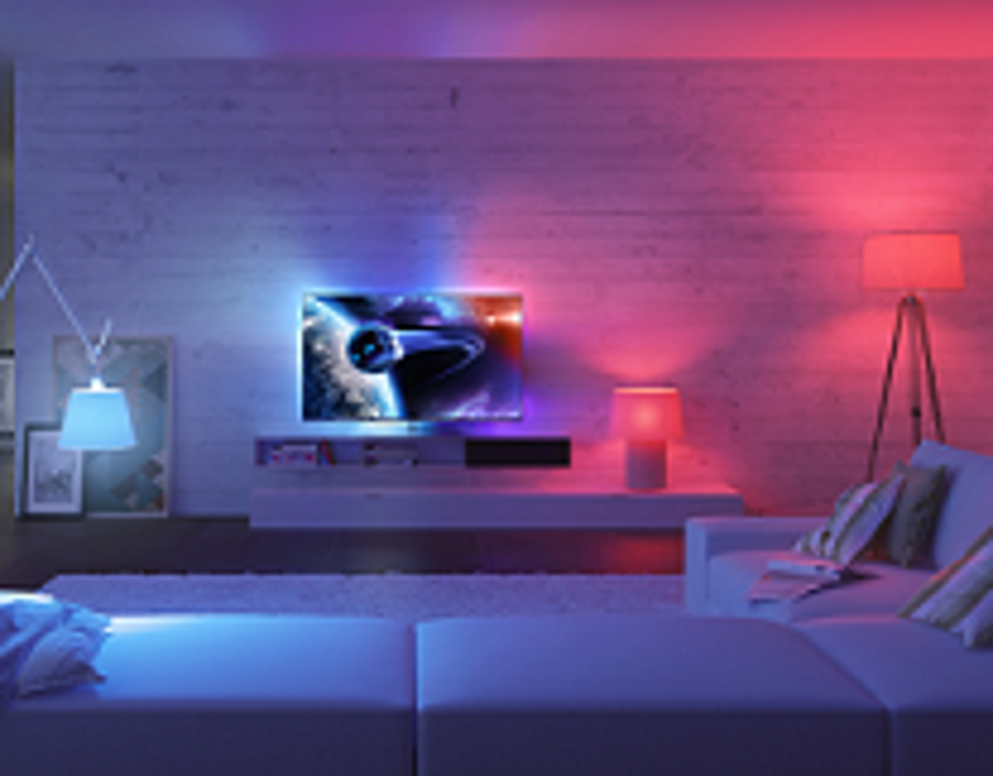 philips integreert ambilight tv s met hue lampen consumentenbond. Black Bedroom Furniture Sets. Home Design Ideas