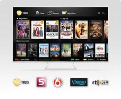 Panasonic Smart tv's met Pathé Thuis, RTL XL en SBS Gemist