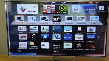 Panasonic TX-L50DT60 - Smart TV menu