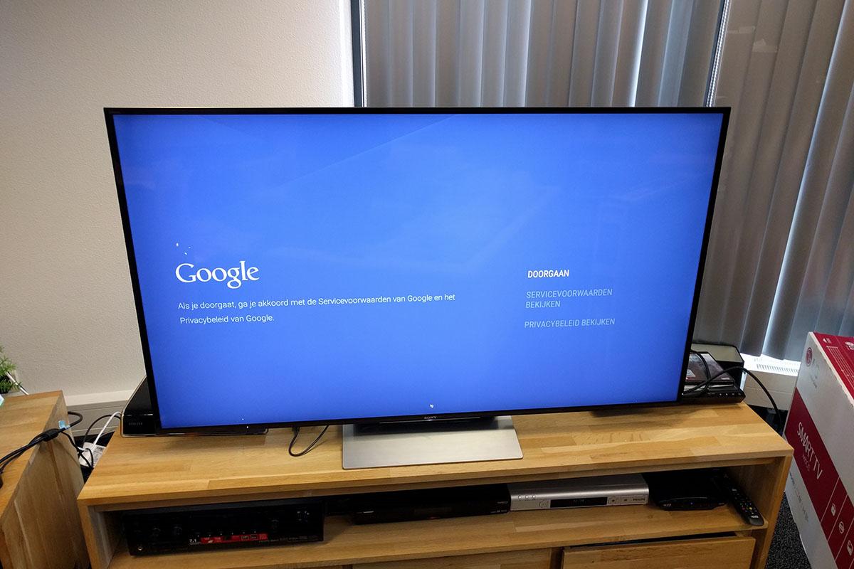 Android TV doorgaan