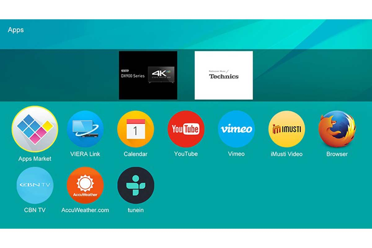 Panasonic-firefox-smart-tv
