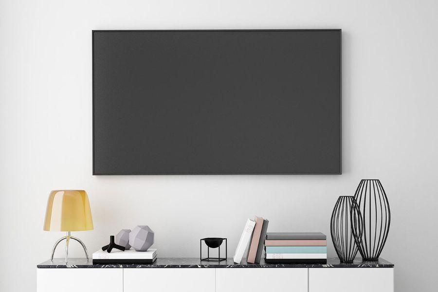 Tv Aan Muur : Vogel s designmount design aan de muur homecinema magazine