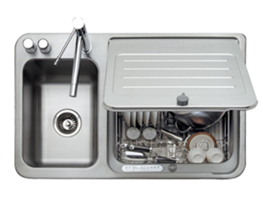 Eerste indruk in sink kitchenaid consumentenbond for Kitchenaid lavastoviglie