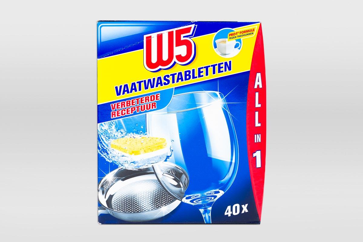 Lidl-W5-beste-vaatwastablet-verpakking