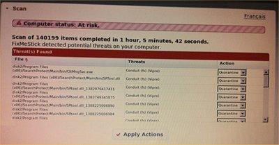 De FixMeStick is een usbstick die belooft virussen uit een Windows-pc te verwijderen.