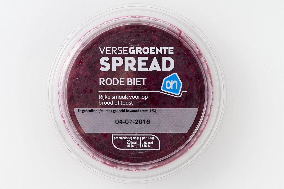 voeding AH rode biet spread