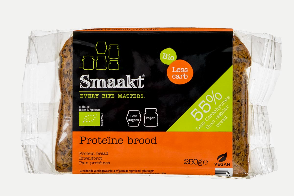 Smaakt Low carb brood bio
