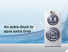 Haier Duo wasmachine