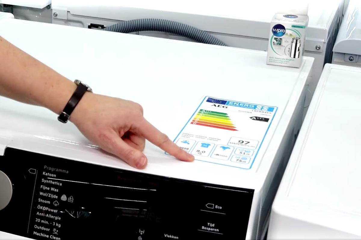 Dossier-Wasmachine-enegielabel