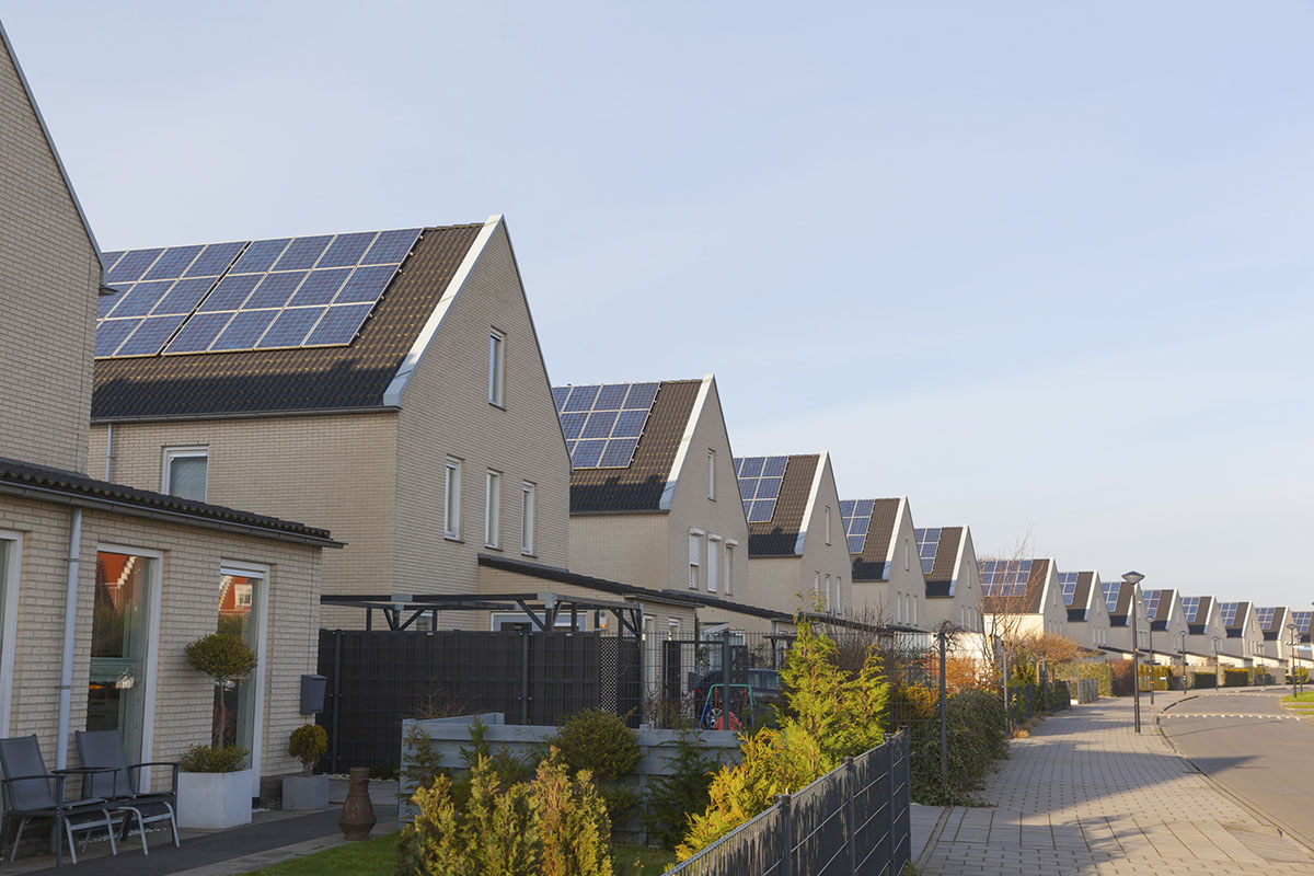 huishoudens zonnepanelen