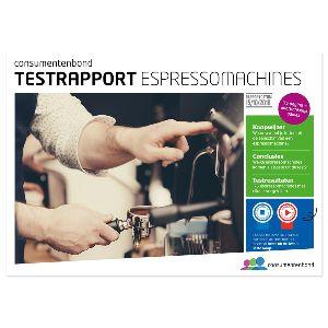 Testrapport Espressomachines